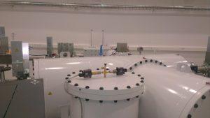 Datering ved hjælp at Kulstof-14 metoden kræver avanceret udstyr. Her fra AMS laboratoriet på Aarhus Universitet.
