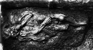 Borremosekvinden set forfra. Foto Nationalmuseet
