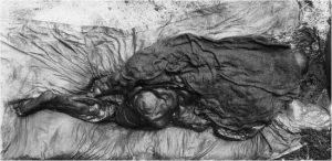Borremosekvinden set bagfra. Foto Nationalmuseet